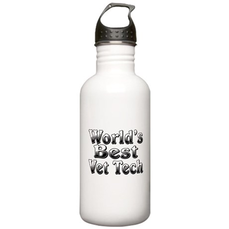 WORLDS BEST Vet Tech Stainless Water Bottle 1.0L