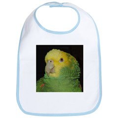 Wasabi/ Double Yellow-headed Bib