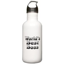 WORLDS BEST Boss Water Bottle
