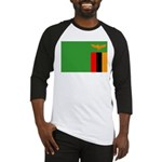 Zambia Flag Baseball Jersey