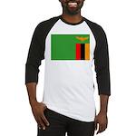 Zambia Flag Baseball Jersey
