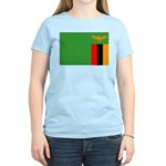 Zambia Flag Women's Light T-Shirt