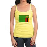 Zambia Flag Jr. Spaghetti Tank