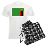 Zambia Flag Men's Light Pajamas