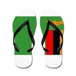 Zambia Flag Flip Flops