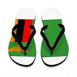 Zambia Flag Flip Flops