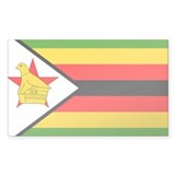 Zimbabwe Flag Decal