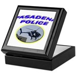 Pasadena Police Helicopter Keepsake Box