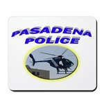 Pasadena Police Helicopter Mousepad