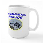Pasadena Police Helicopter Large Mug