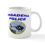 Pasadena Police Helicopter Mug