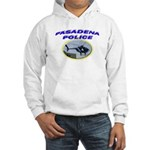 Pasadena Police Helicopter Hooded Sweatshirt