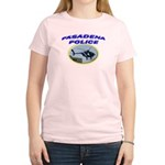 Pasadena Police Helicopter Women's Light T-Shirt