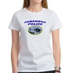 Pasadena Police Helicopter Women's T-Shirt