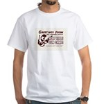 Bible Gun Camp White T-Shirt