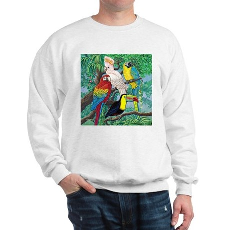 Tropical Birds Sweatshirt