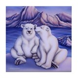 Polar Attraction Tile Coaster