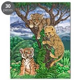Cute Cheetah Puzzle