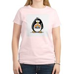 GLBT Penguin Women's Pink T-Shirt
