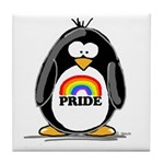 GLBT Penguin Tile Coaster