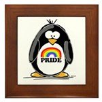 GLBT Penguin Framed Tile