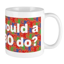 What Would A Bonobo Do? Mug