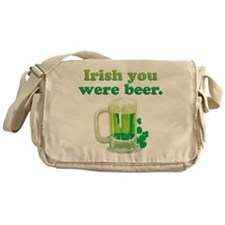 Irish You Were Beer Messenger Bag