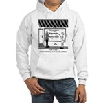 Not Charged For Extra Lettering Hooded Sweatshirt