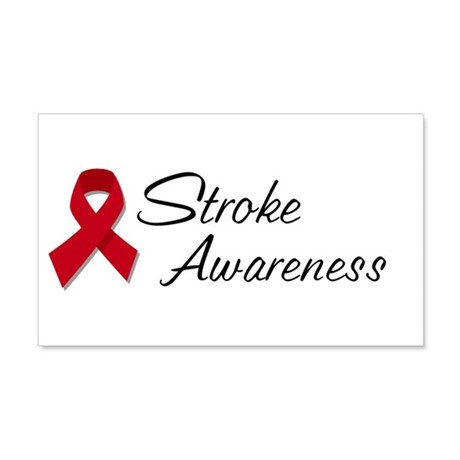 Stroke Awareness 22x14 Wall Peel