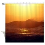 Hawaii Tropical Sunset Shower Curtain