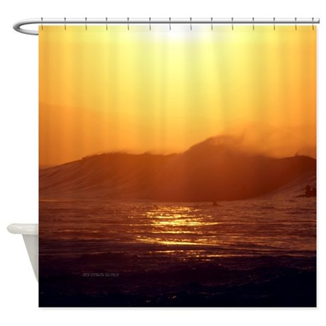 Banzai Pipeline Hawaii Tropical Shower Curtain by ...