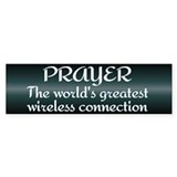 Prayer - World's Greatest Wir Car Sticker