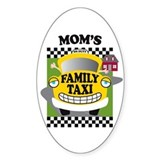Mom's Family Taxi Decal