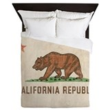 Vintage California Republic Queen Duvet