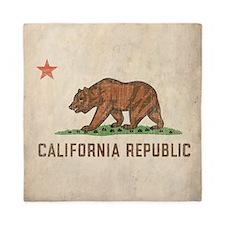 Vintage California Republic Queen Duvet