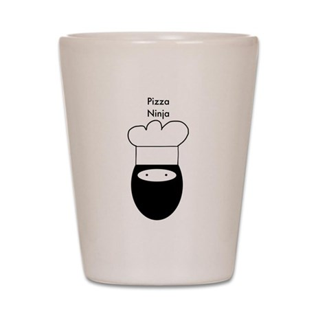 Pizza Ninja Shot Glass