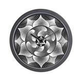 Wholeness Mandala Wall Clock