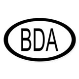Bermuda Car Decal / Oval Decal