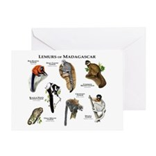 Lemurs of Madagascar Greeting Card