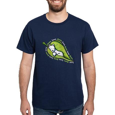 Love Live Green Westie Dark T-Shirt