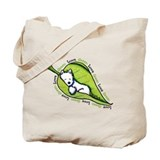 Love Live Green Westie Tote Bag
