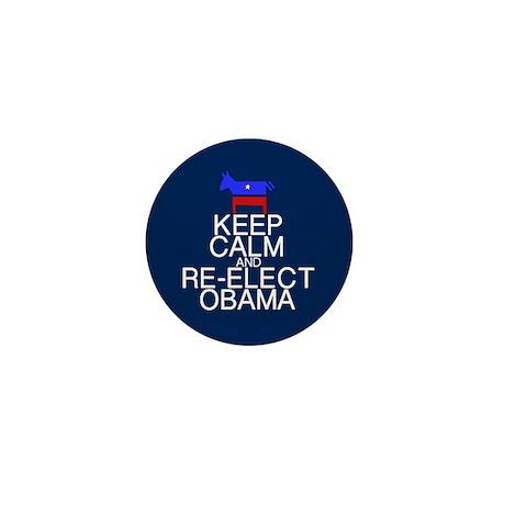 Keep Calm Obama Mini Button