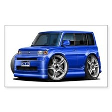 Scion XB Blue Car Decal