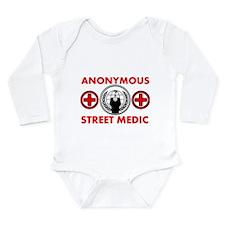 Anonymous Street Medic Long Sleeve Infant Bodysuit