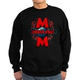 Bowling Mom (cross) Sweatshirt