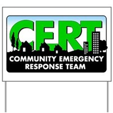 CERT Yard Sign