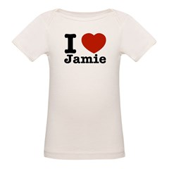 I love Jamie Organic Baby T-Shirt