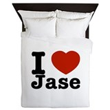 I love Jase Queen Duvet