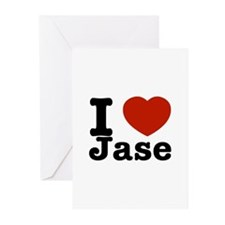 I love Jase Greeting Cards (Pk of 20)