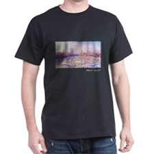 Floating Ice on the Seine, 1880, Monet, T-Shirt